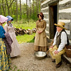 Interpreters at the Norwegian Fossebrekke farm discuss life in the 19th century.
