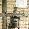 Cider press on back porch of the 1880 Koepsell farmhouse.