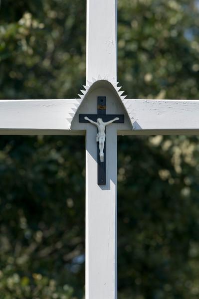 Crucifix at the Kruza (Polish) home.