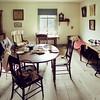 1880 Koepsell farmhouse dining room,