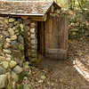 Entrance to the root cellar at the Ketola farm.