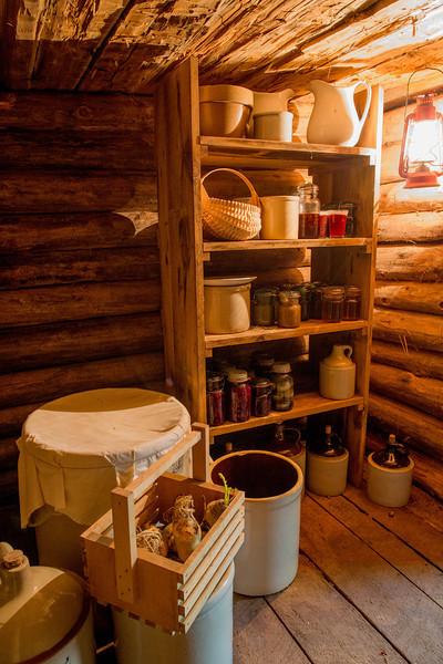 Root cellar at the Ketola farm.
