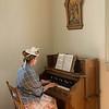 Pedal organ in St. Peter's church in Crossroads Village.