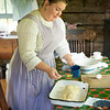 Making bread at the Ketola farm.