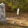 Tombstones in Pleasant Ridge (African American area).
