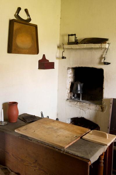 Kitchen in the 1860 Schulz farmhouse