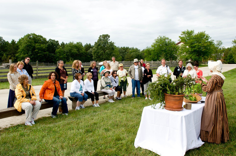 """""""Walk with Walker"""" a sponsored walk through Old World Wisconsin with Tonette Walker, First Lady of the State of Wisconsin"""
