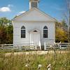 St. Peter's church in Crossroads Village