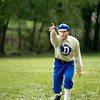 Vintage base ball (yes it's two words) played at Old World Wisconsin by the Eagle Diamonds, Old World's own vintage base ball team.