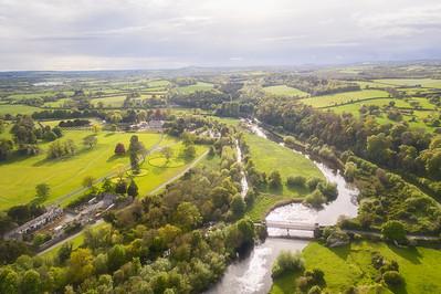 Aerial View , Oldbridge House and Gardens