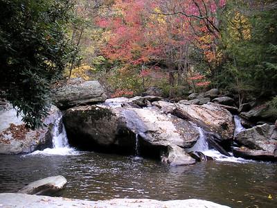 Winkler's Creek in Boone, N.C., my favorite place.