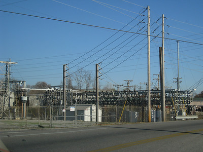 Power station just down from our Apartment back in Cookeville. When something would blow here it would sound like a bomb at our apartment.