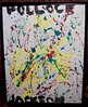 Our son Jackson Pollock - his 2 yr old painting