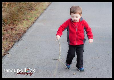 Still loves sticks