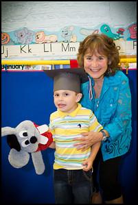 Jack graduation from Pre K