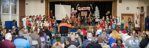 Belaire Kindergarten Christmas Program 2012