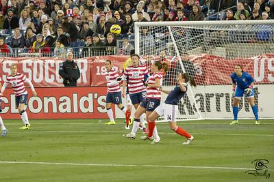 US Womens National Team versus Scotland LP field Nashville TN