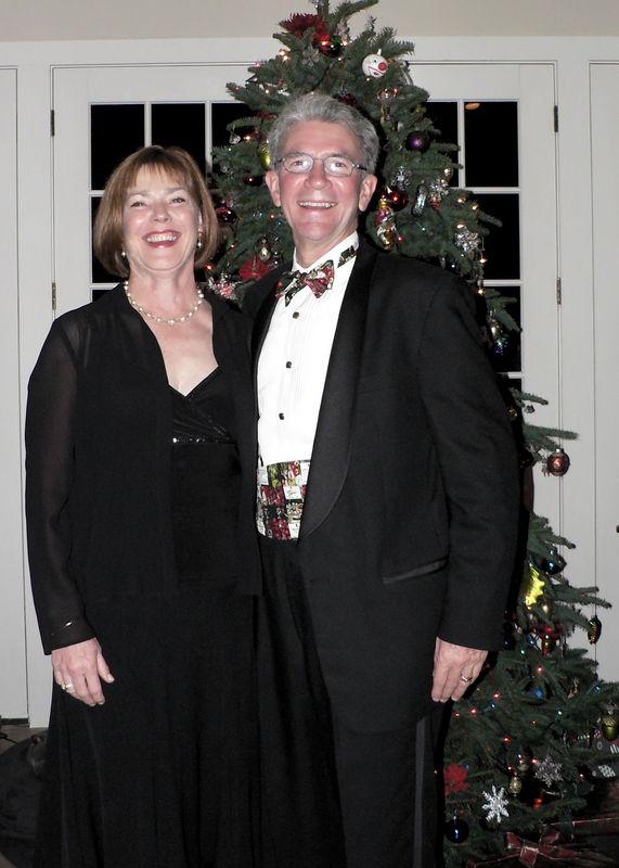 2005 Xmas Party JM and Jim