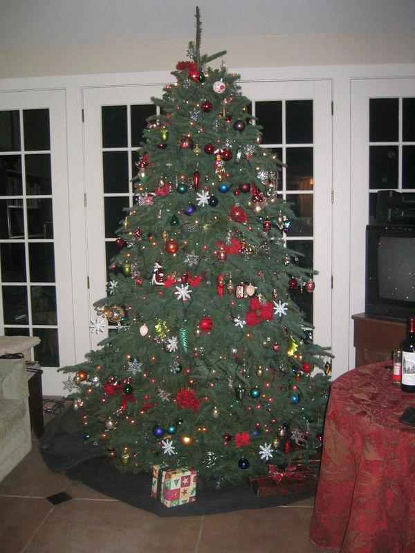 2005 Xmas Party - Tree