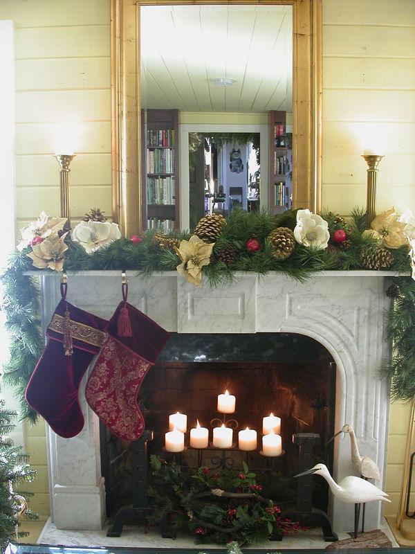 Xmas Party 2005 - Fireplace