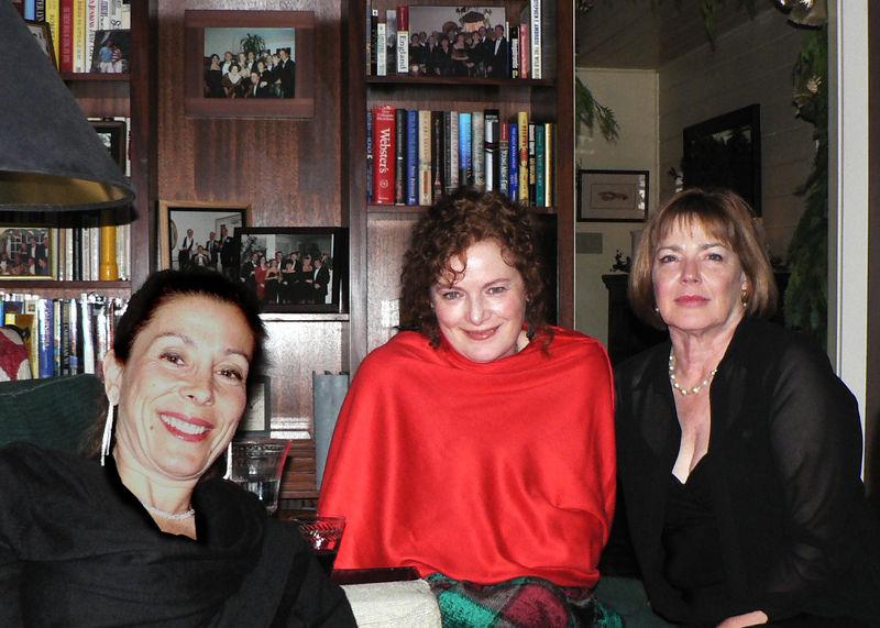 2005 Xmas Party Joan Kara and JM