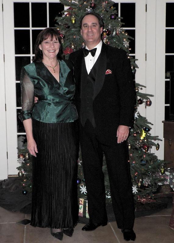 2005 Xmas Party Jeri and Steve