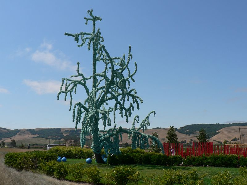 Blue Tree Garden 003