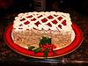 The Cake: Viennese Linzertorte Cake. Cher made it.