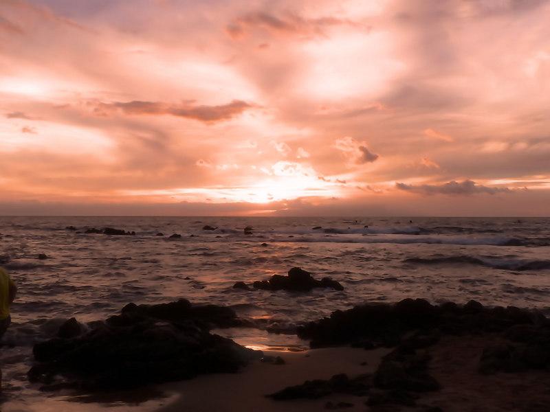 Mon 06-08-28 Maui Sunset - painted