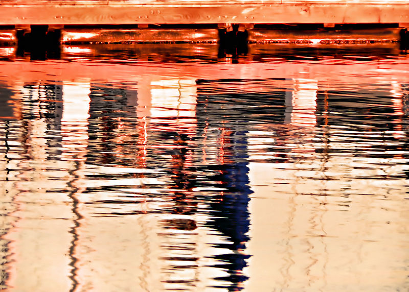Tue 02-07-06  Sunrise in Sausalito - Reflections