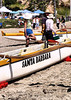 Sat 06-07-21 - Canoe races at the beach in Santa Barbara