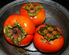 Sun 11-12-06 3 Persimmons - painted