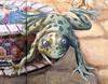 Fri 10-27-06 Town Center - Papanikolas Frog