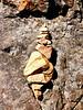 8-11-2007 Summit to East Peak - Sitting Bull Rock Detail