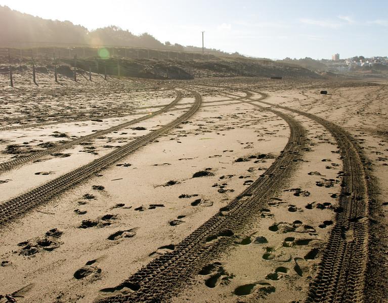 12-30-07 Baker Beach Tracks