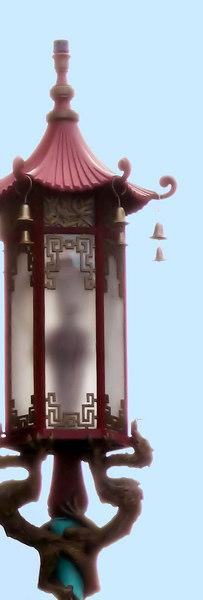 02-16-07 Chinatown with Joyce Jue -  Street Lamp