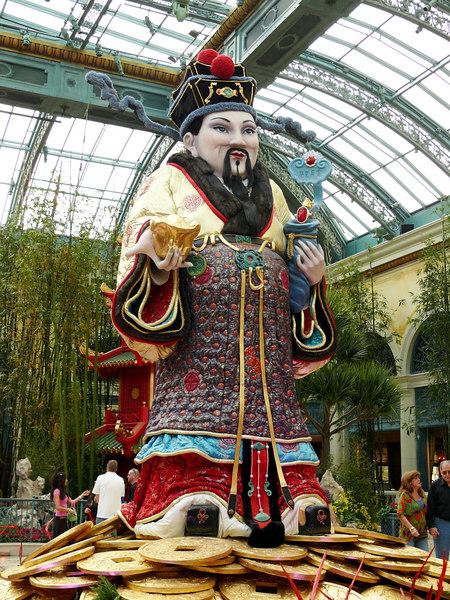 02-07 Las Vegas - Ballagio Chinese New Year - Figure