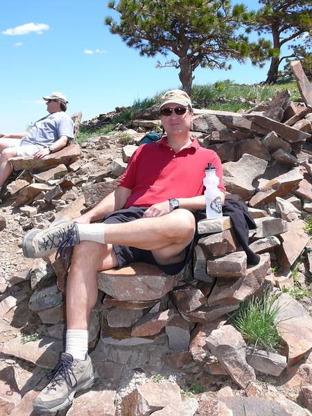6-9-2007 Boulder-Steve on Sugarloaf Mountain
