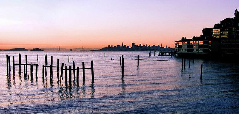 03-22-07 SF Sunrise from Sausalito