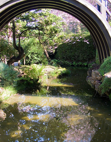 03-20-07 Golden Gate Park Japanese Garden Bridge