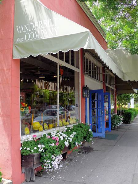 One of our favorite stores in St Helena - Vanderbilts