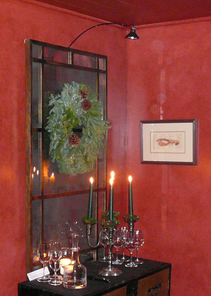 Dining room candles