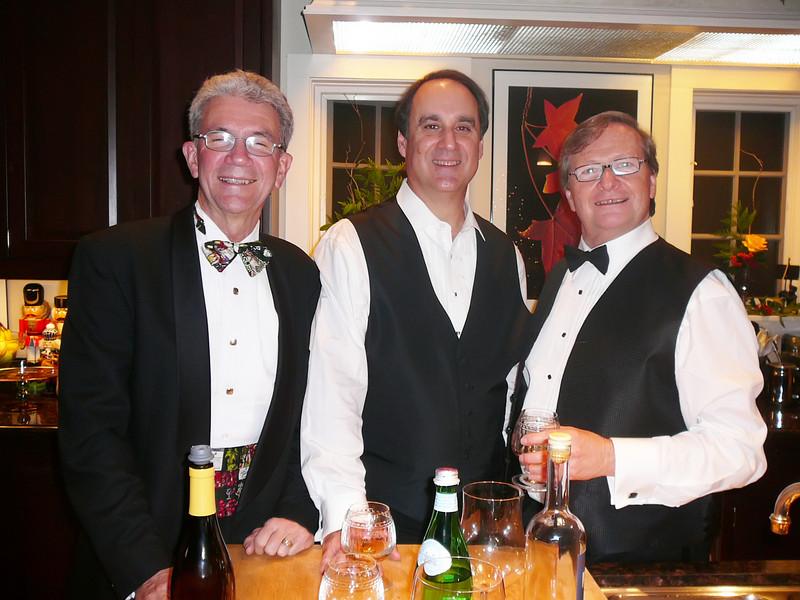 Jim, Steve, Paul - getting into the cognac