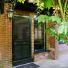 Jamestown 8/24/08<br /> <br /> The front door under the wisteria arbor