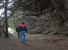 01-26-08 Sea Ranch - Steve and Kara Thru the Woods