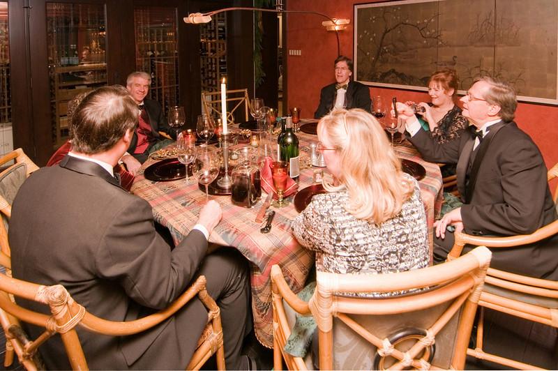 12-06-08 Xmas Party - Everyone at the Table