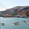 08-16-09 Kayak race from Baker Beach Sausalito<br /> <br /> Steve, Kara and I took a walk from her house and ended up at Cavallo Point for lunch, then walked down to the beach and this race was just getting organized. Of course, being at the Presidio Yacht Club, we stopped in for a beer before heading back up to Kara's place. .  .