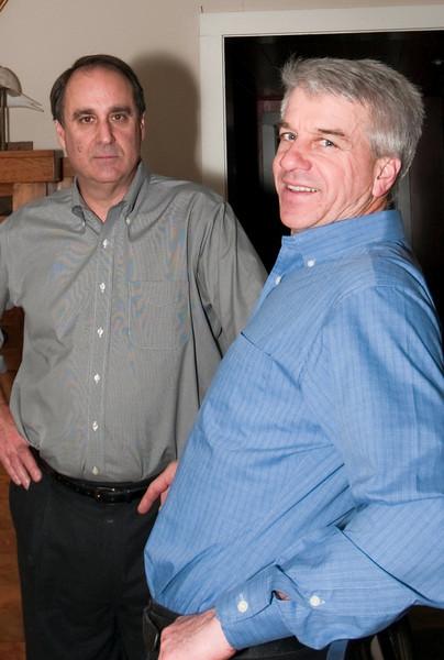 11-26-09 Thanksgiving - Steve & Dave
