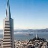 09-25-09 Transamerica, Alcatraz, Coit Tower