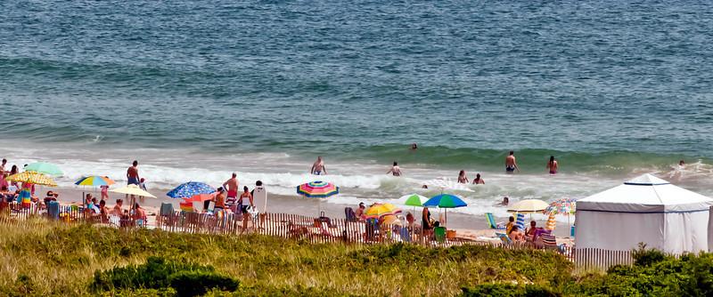 08-06-10 Watch Hill - Ocean House Beach Scene (painted)